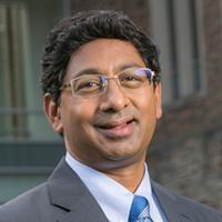 Dean of the Pratt School of Engineering, Ravi Bellamkonda, smiling
