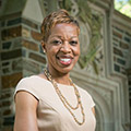 Dean of the Trinity College of Arts and Sciences, Valerie Ashby, smiling