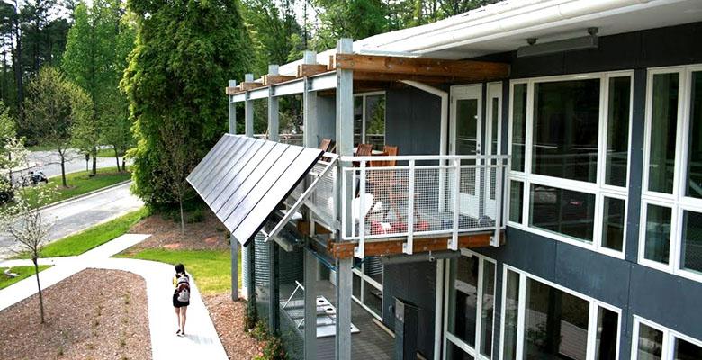 Duke smart home engineering residence building