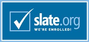 Slate.org Badge
